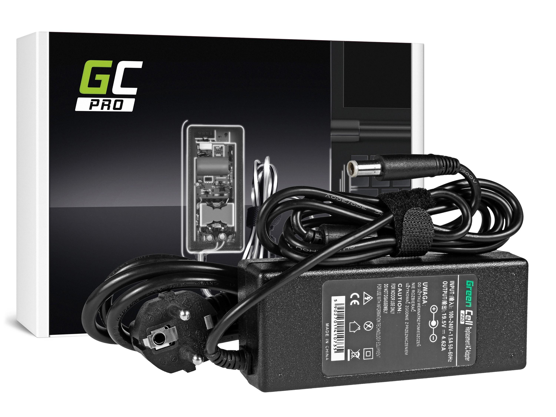 Green Cell AD09P Adaptér Nabíječka Dell Inspiron 15R N5010 N5110 Latitude E6410 E6420 E6430 E6510 E6520 E6530 19.5V 4.62A 90W