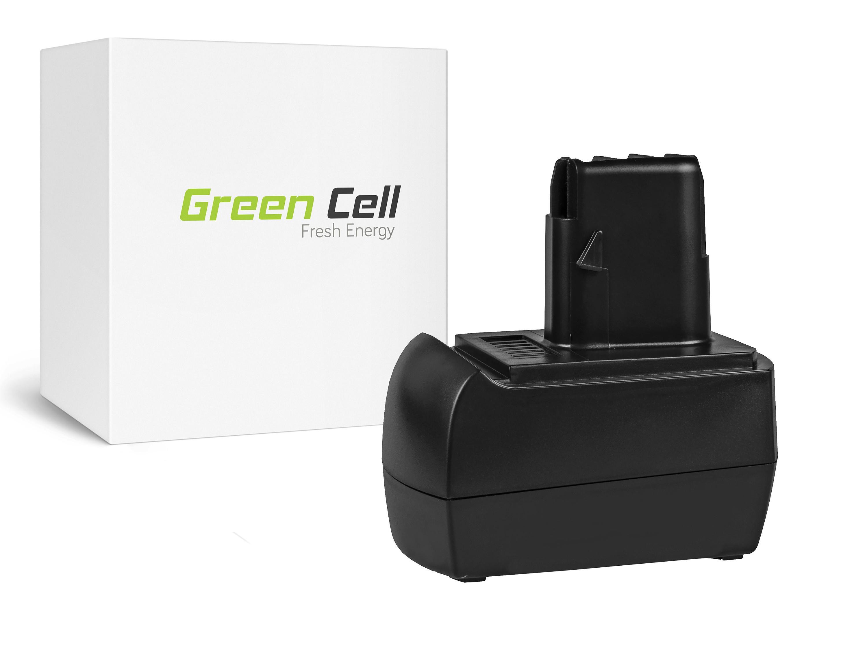 Green Cell Power Tool akkumulátor Metabo BST12 IMPULS 12V 3Ah