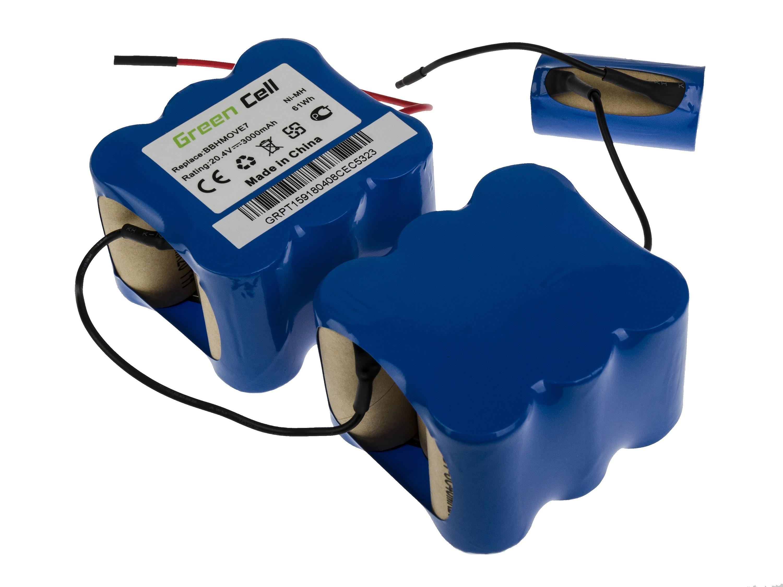 Baterie Green Cell Bosch FD9406 Bosch BBHMOVE7 20.4V 3000mAh Ni-MH – neoriginální