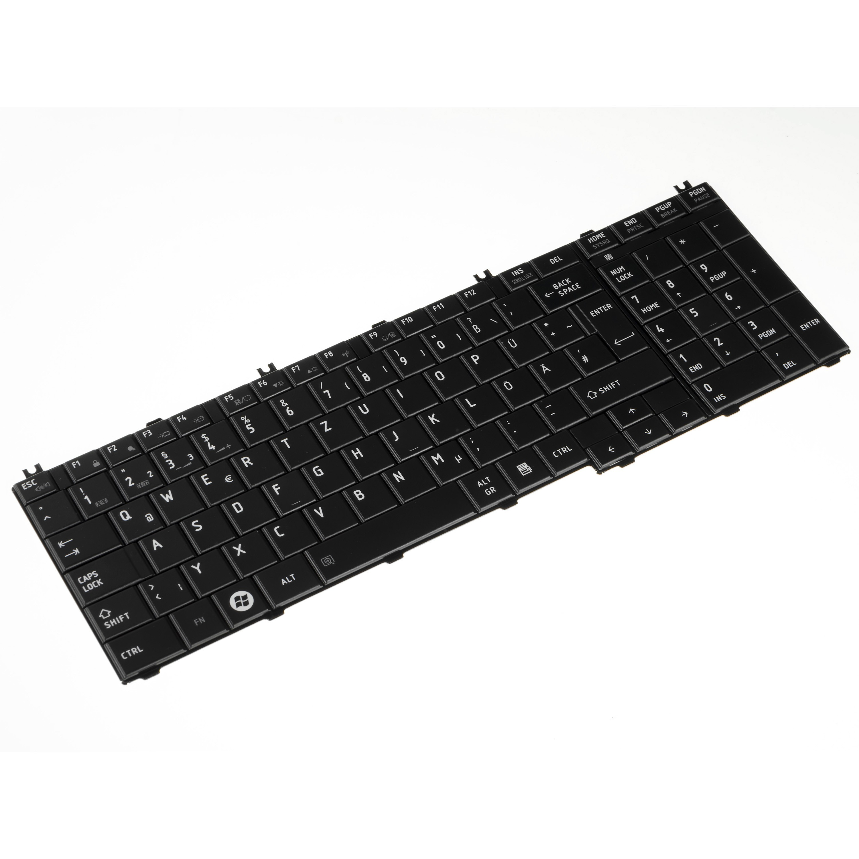 Green Cell Keyboard for Laptop Toshiba Satellite C650 C655 C660 L650 L670 L750