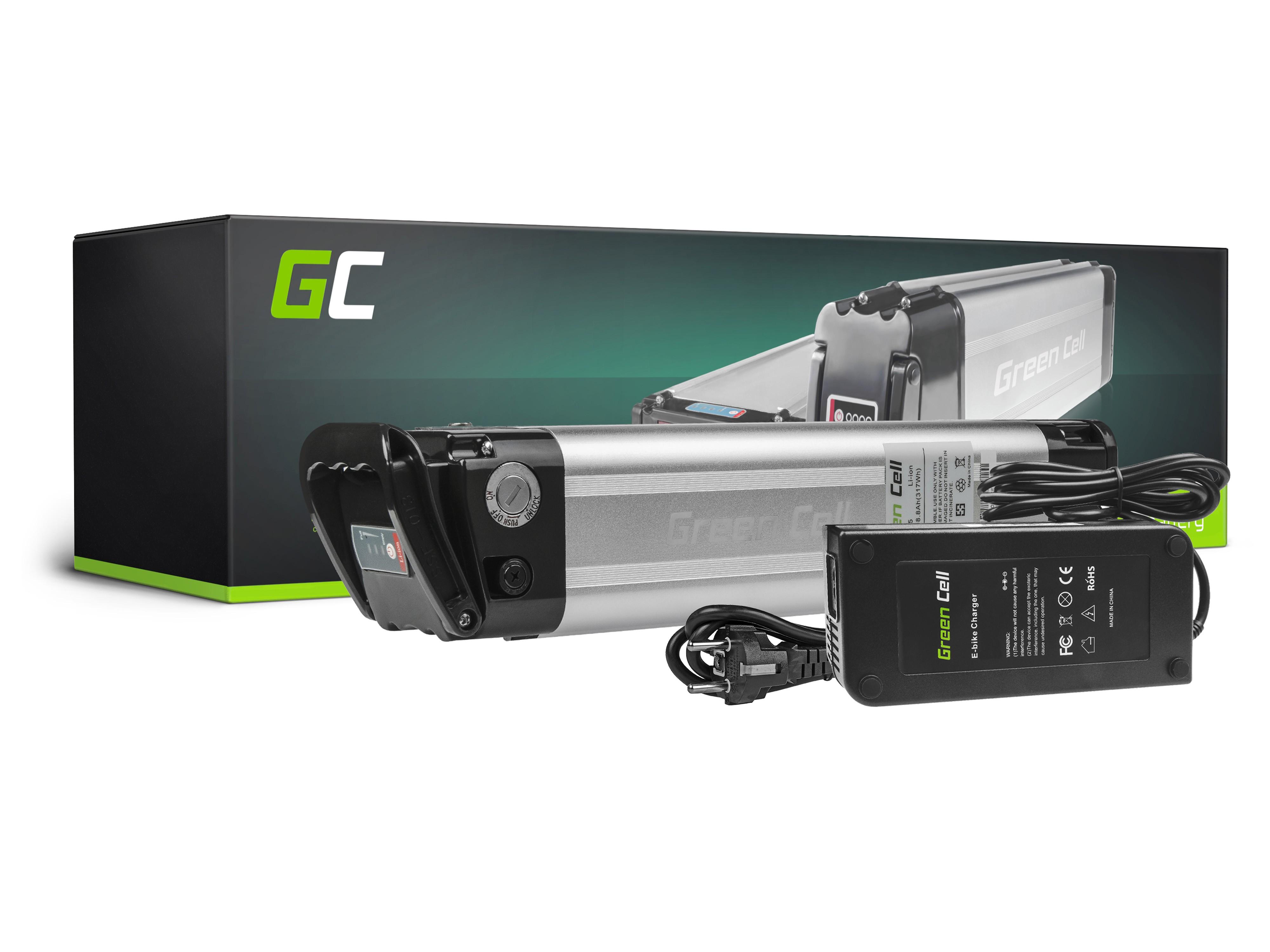 Green Cell EBIKE15 Baterie Elektro Kolo e-Bike 36V 317Wh Li-ion - neoriginální