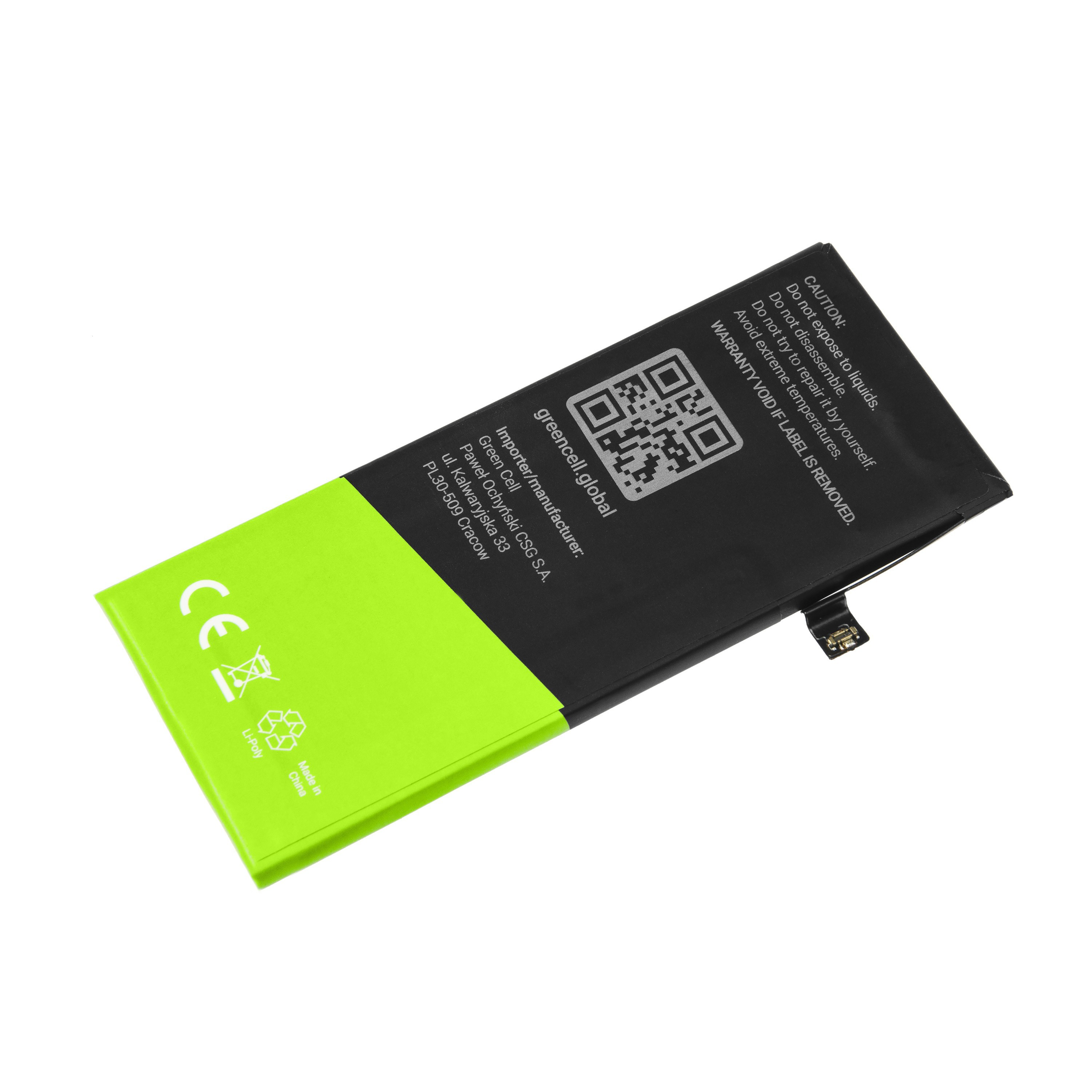 Baterie Green Cell Apple Iphone A1863 do telefonu Apple iPhone 8 1820mAh Li-Pol – neoriginální