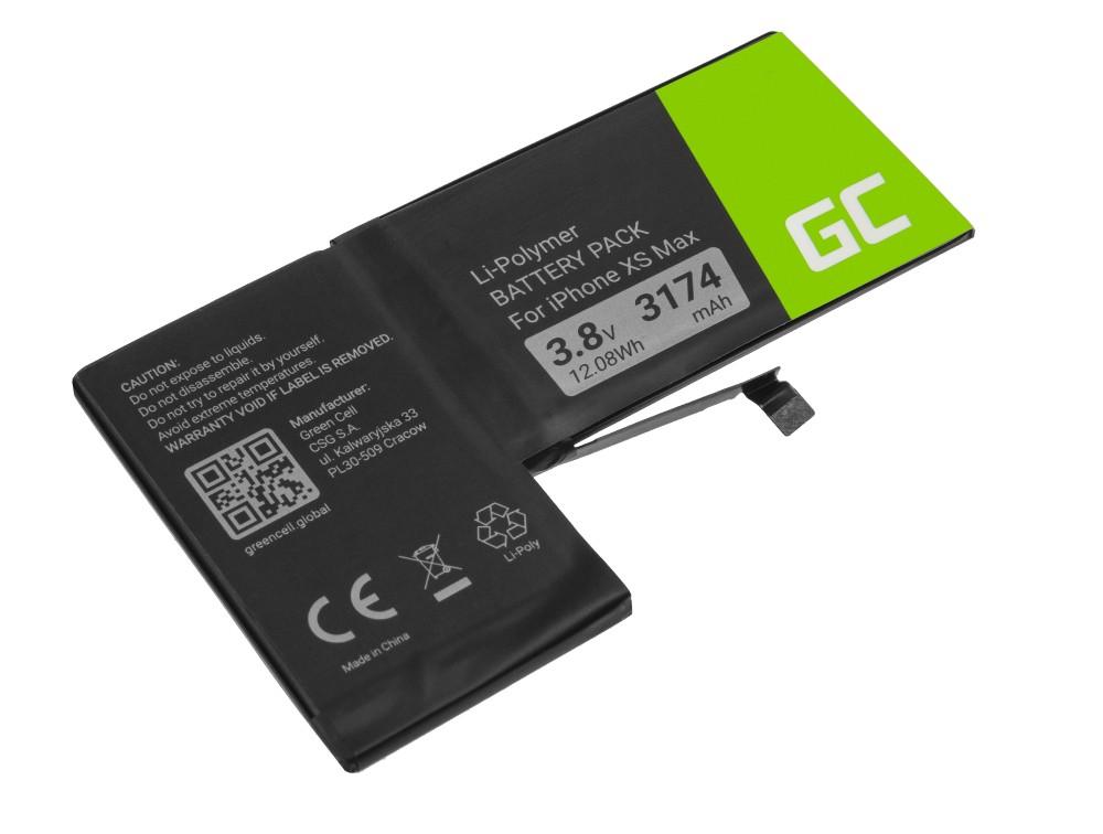 Green Cell BP142 Baterie Apple A2101, Apple iPhone XS Max + nářadí 3174mAh Li-Pol – neoriginální