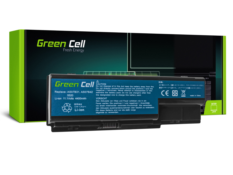 Green Cell AC03 Baterie Acer AK.006BT.019/AS07B31/AS07B32/AS07B41/AS07B42/AS07B51 4400 mAh Li-ion - neoriginální