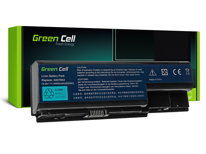 Green Cell AC05 Baterie Acer AS07B31/AS07B32/AS07B41/AS07B42/AS07B51/AS07B52/AS07B61 4400 mAh Li-ion - neoriginální