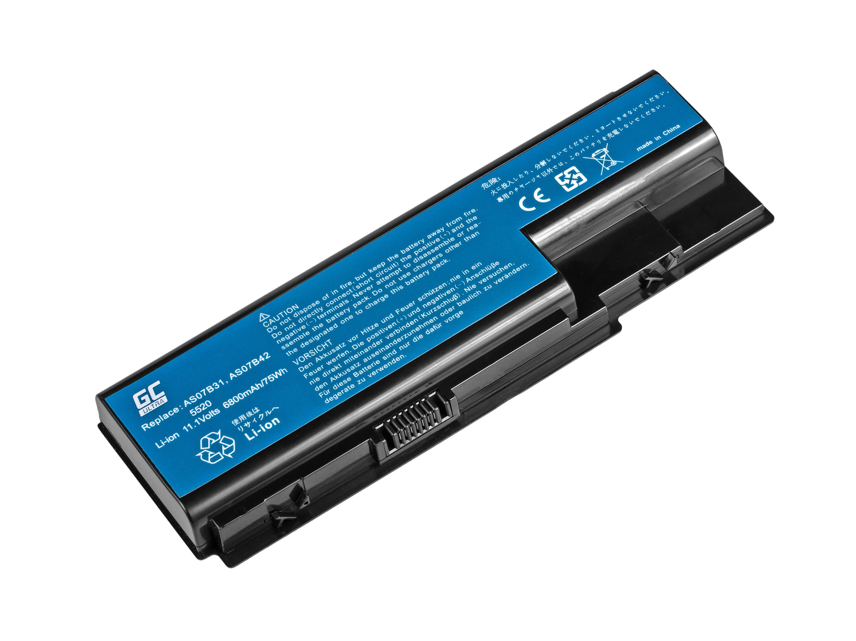 Green Cell ULTRA Baterie pro Acer Aspire 5520 AS07B31 AS07B32 / 11,1V 6800mAh