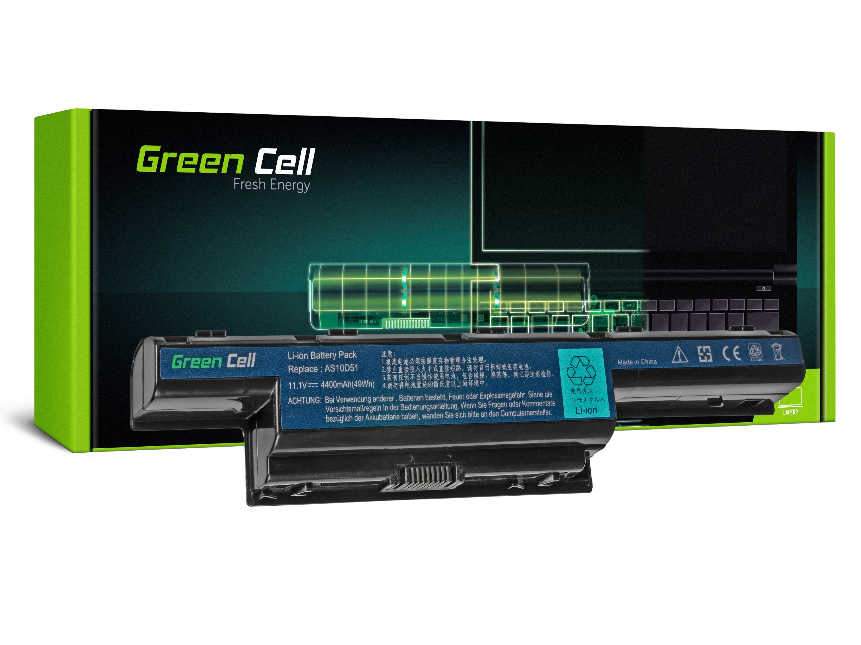 Green Cell AC06 Baterie Acer AS10D31/AS10D3E/AS10D41/AS10D51/AS10D56/AS10D61/AS10D71 4400 mAh Li-ion - neoriginální