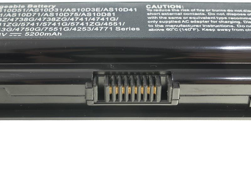 Green Cell AC06PRO Baterie Acer AS10D31/AS10D3E/AS10D41/AS10D51/AS10D56/AS10D61/AS10D71 5200 mAh Li-ion - neoriginální