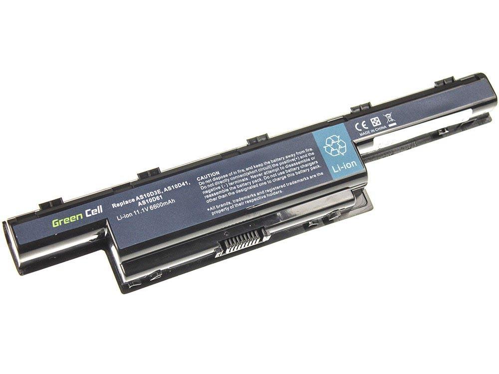 Green Cell AC07 Baterie Acer AS10D31/AS10D3E/AS10D41/AS10D51/AS10D56/AS10D61/AS10D71 6600 mAh Li-ion - neoriginální