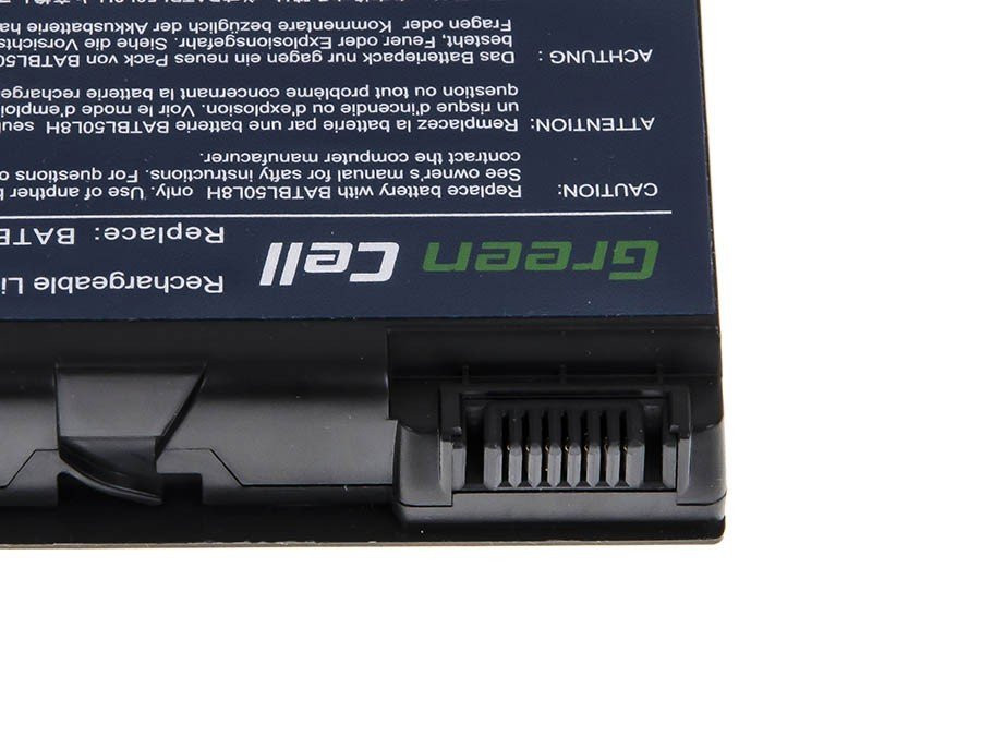 Green Cell Battery for Acer Aspire 3100 3690 5110 5630 / 14,4V 4400mAh