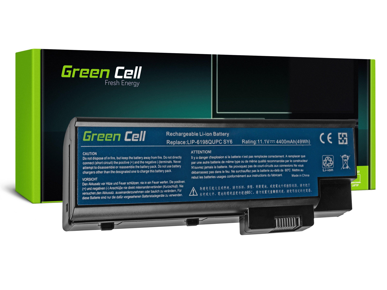Green Cell AC19 Baterie Acer Aspire 5620/7000/7200/9300/9400 TravelMate 5100/5110/5610 4400mAh Li-ion - neoriginální