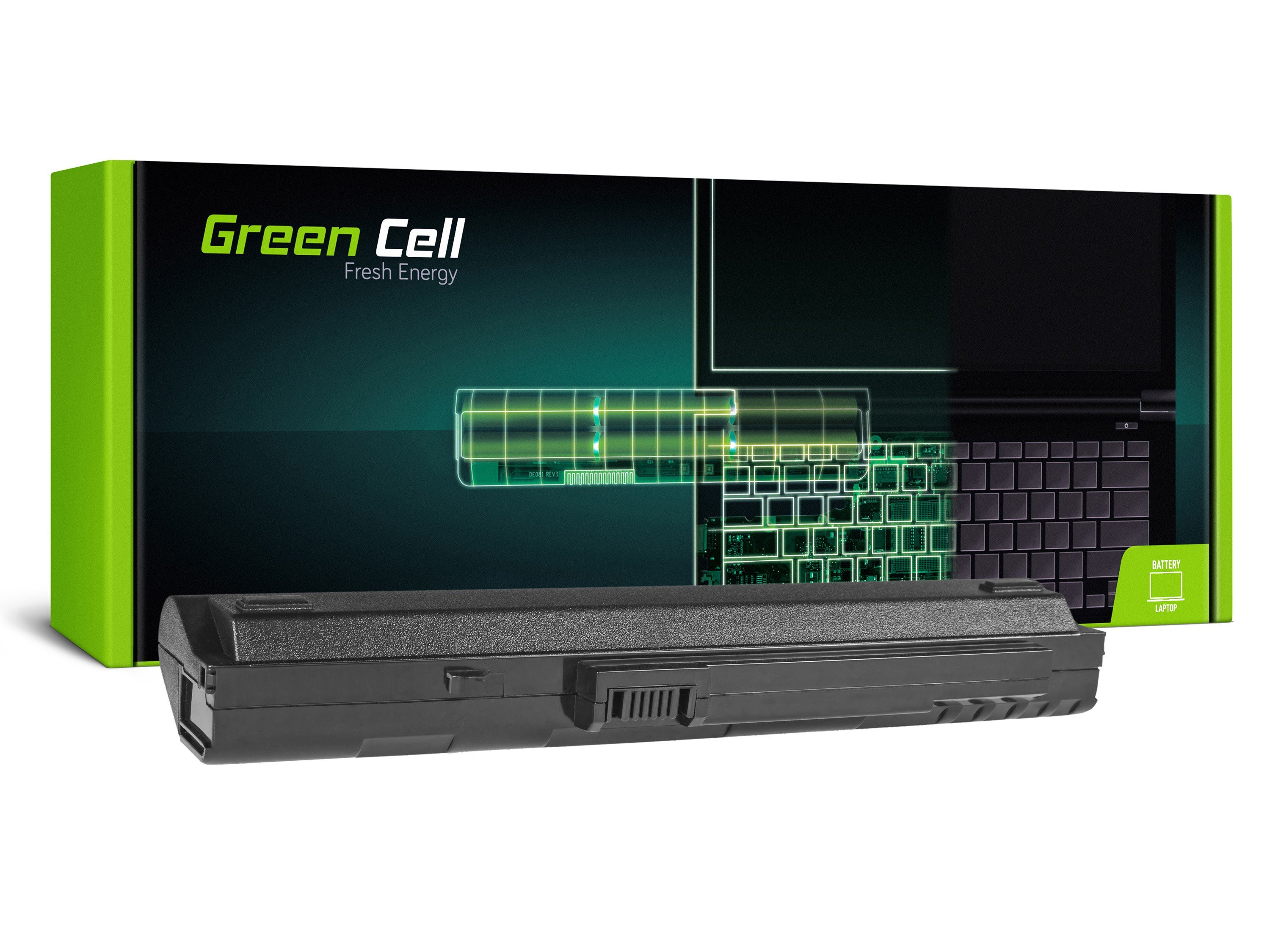 Green Cell Baterie pro Acer Aspire One A110 A150 D150 D250 ZG5 / 11,1V 4400mAh