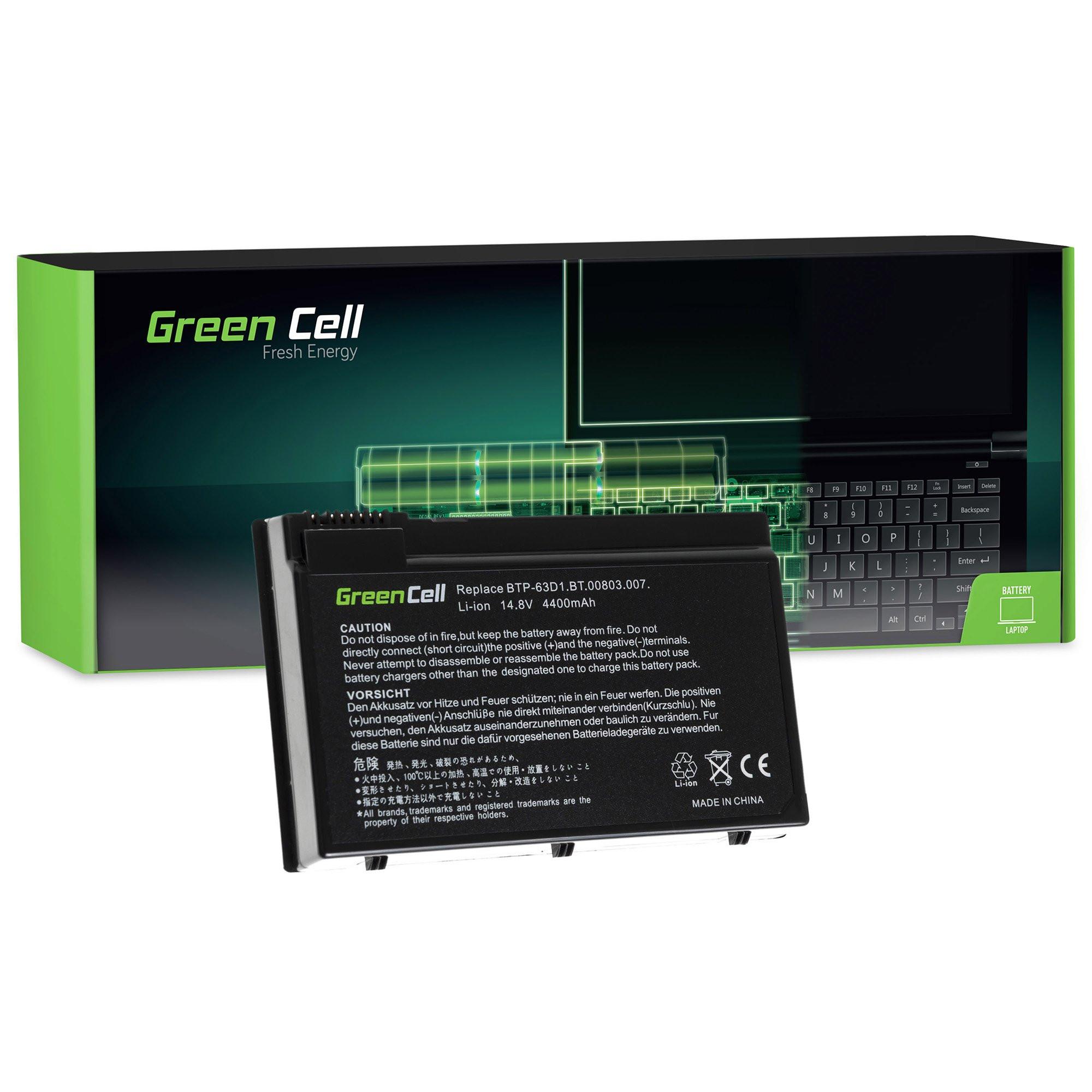 Green Cell Baterie pro Acer TravelMate 4400 C300 2410 Aspire 3020 3610 5020 / 11,1V 4400mAh