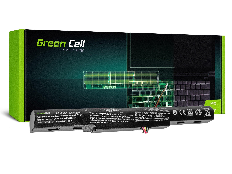 Green Cell AC51 Baterie Acer Aspire E 15 E15 E5-575 E5-575G E 17 E17 E5-774 E5-774G 2200mAh Li-ion - neoriginální