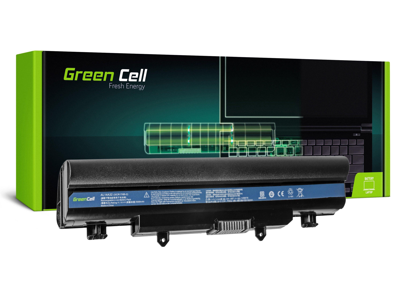 Green Cell AC44 Baterie Acer Aspire E14 E15 E5-511 E5-521 E5-551 E5-571 E5-571G E5-572G V3-572 V3-572G 4400mAh Li-ion - neoriginální