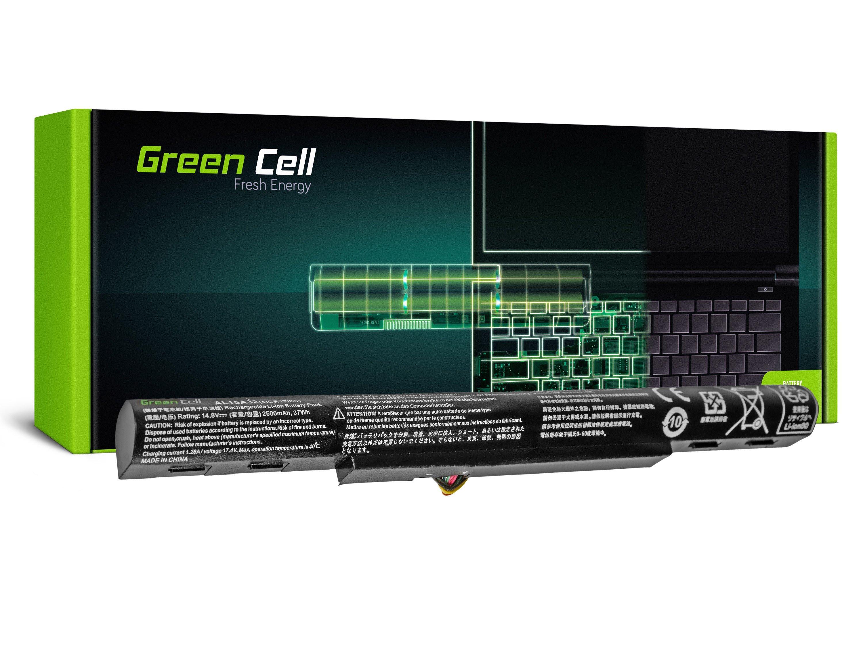 Green Cell Battery for Acer Aspire E5-573 E5-573G V3-574 V3-574G / 14,4V 2500mAh