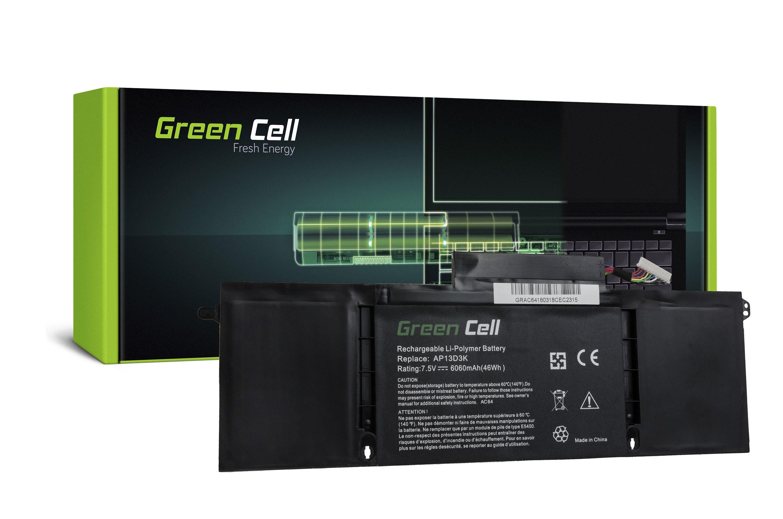 Green Cell Baterie pro Acer Aspire S3-392 S3-392G / 7,5V 6060mAh