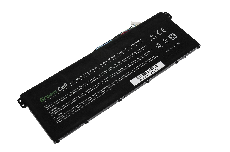 Green Cell Battery for Acer Aspire 5 A515 A517 E15 ES1-512 ES1-533 / 15,2V 3200mAh