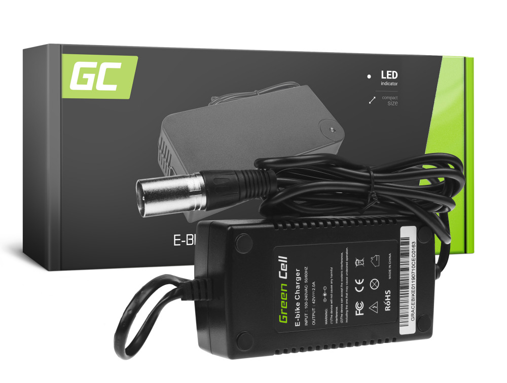 Green Cell töltő akku elektromos kerékpár 36V 2A