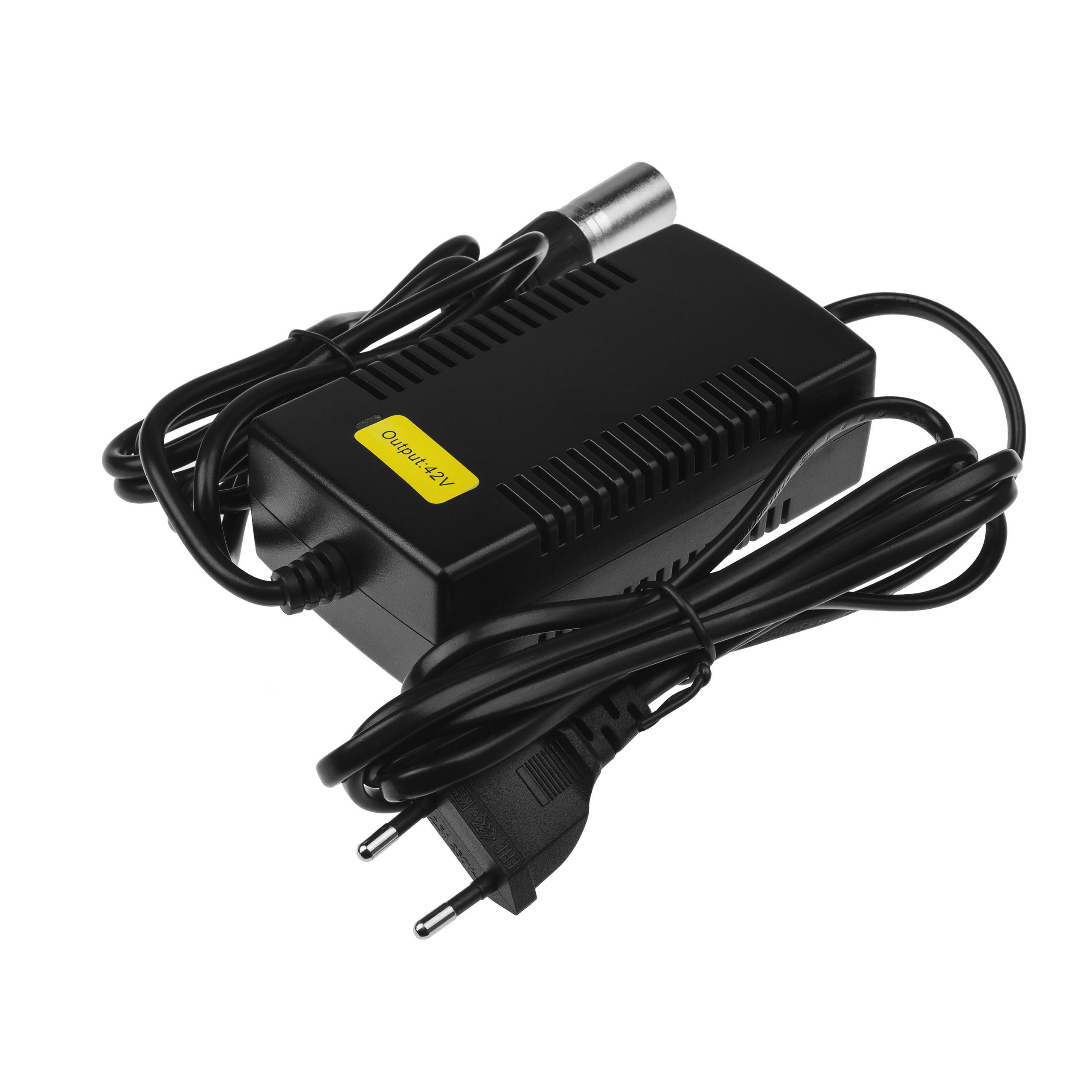 Adaptér 42V 2A pro baterie elektrického kola 36V