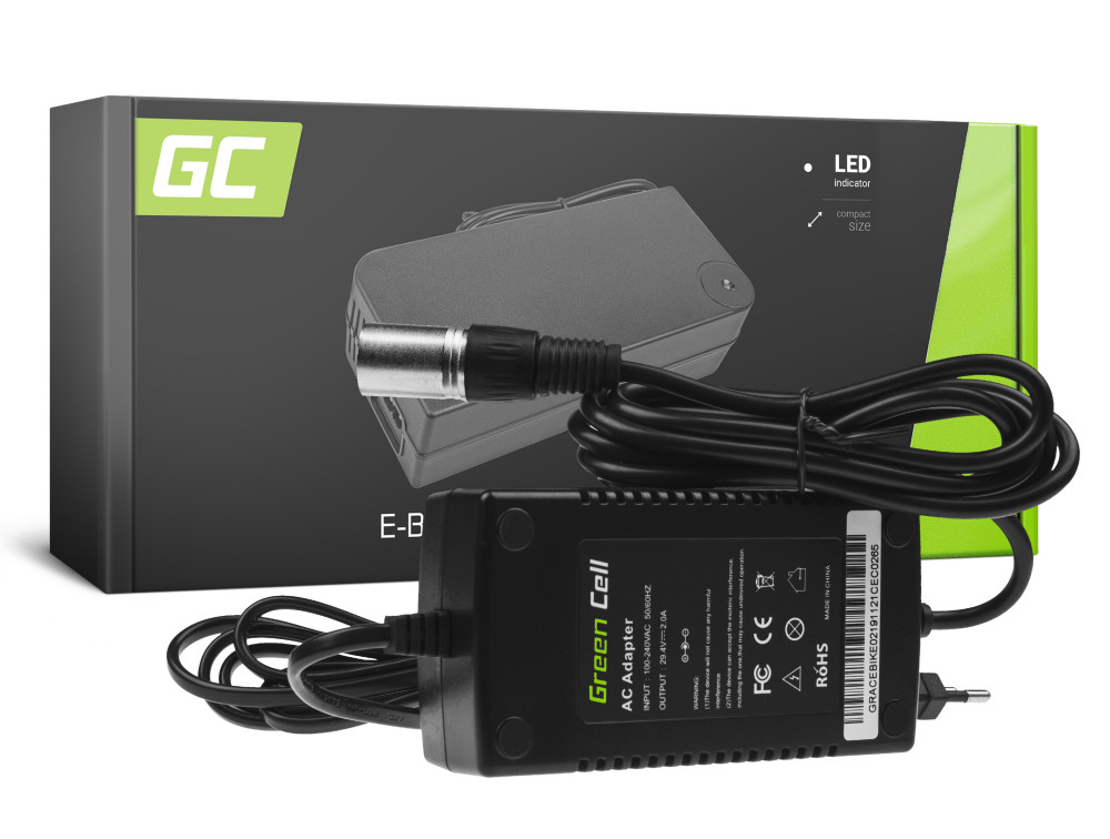 Green Cell akku töltő elektromos kerékpár 24V 2A