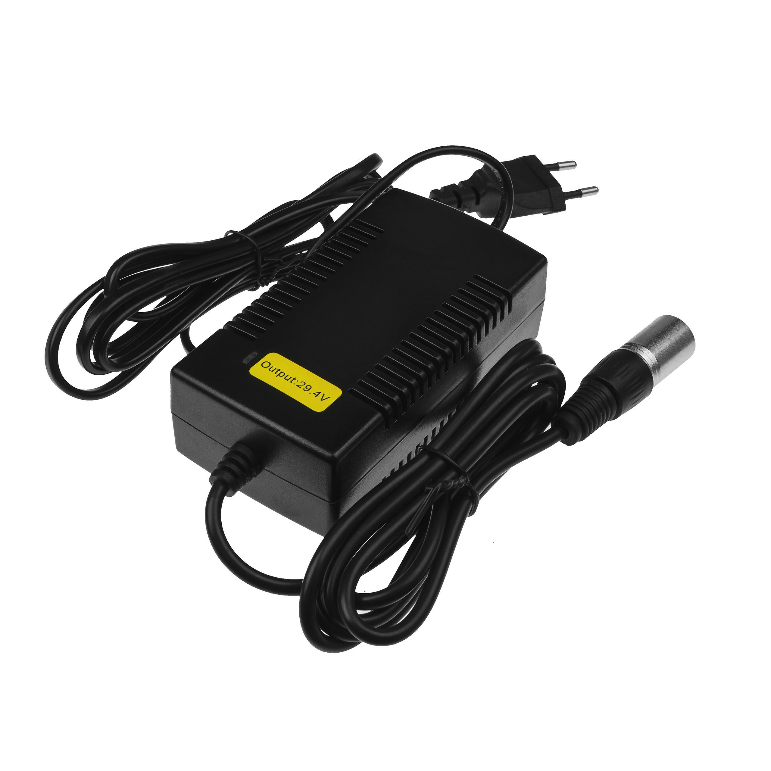 Adaptér 29.4V 2A pro baterie elektrického kola 24V