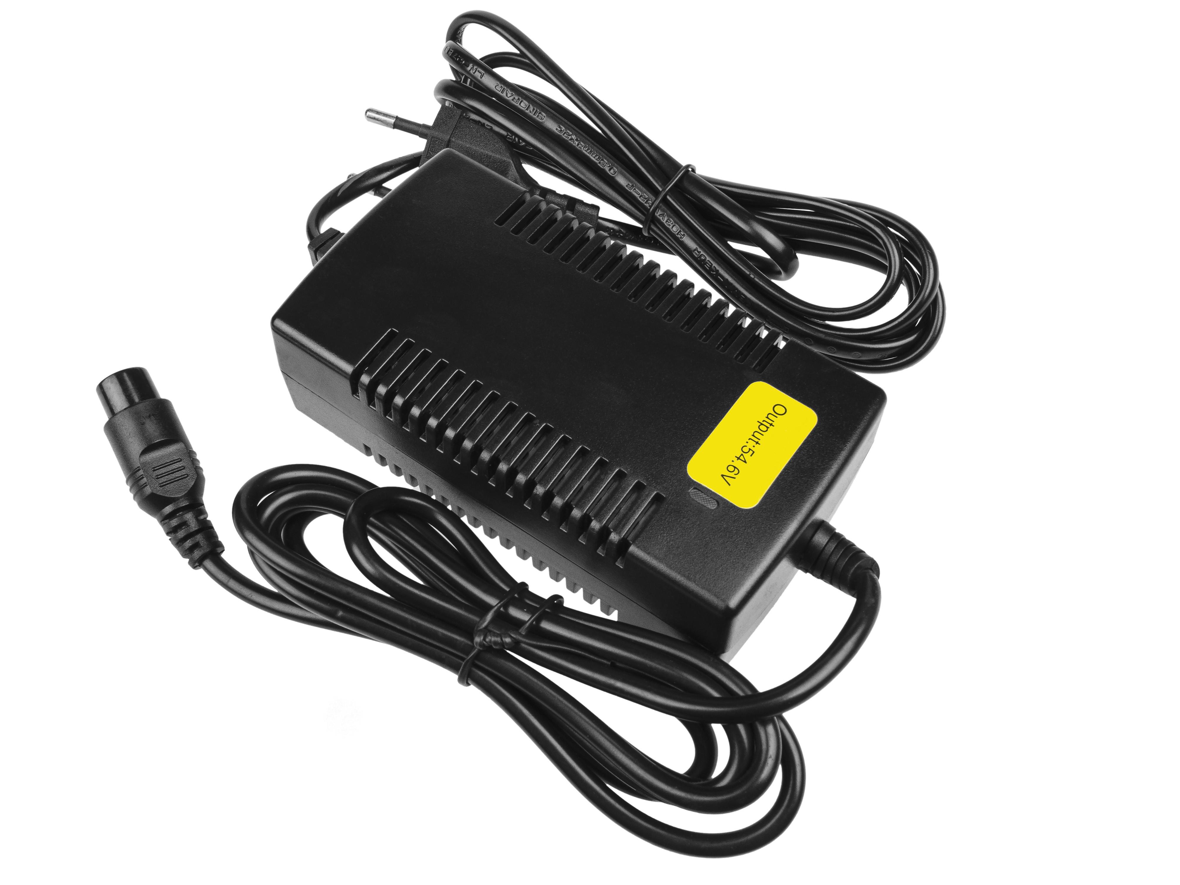 Green Cell ACEBIKE08 Adaptér 54.6V 1.8A (3 pin) pro Baterie - elektrokola EBIKE 48V