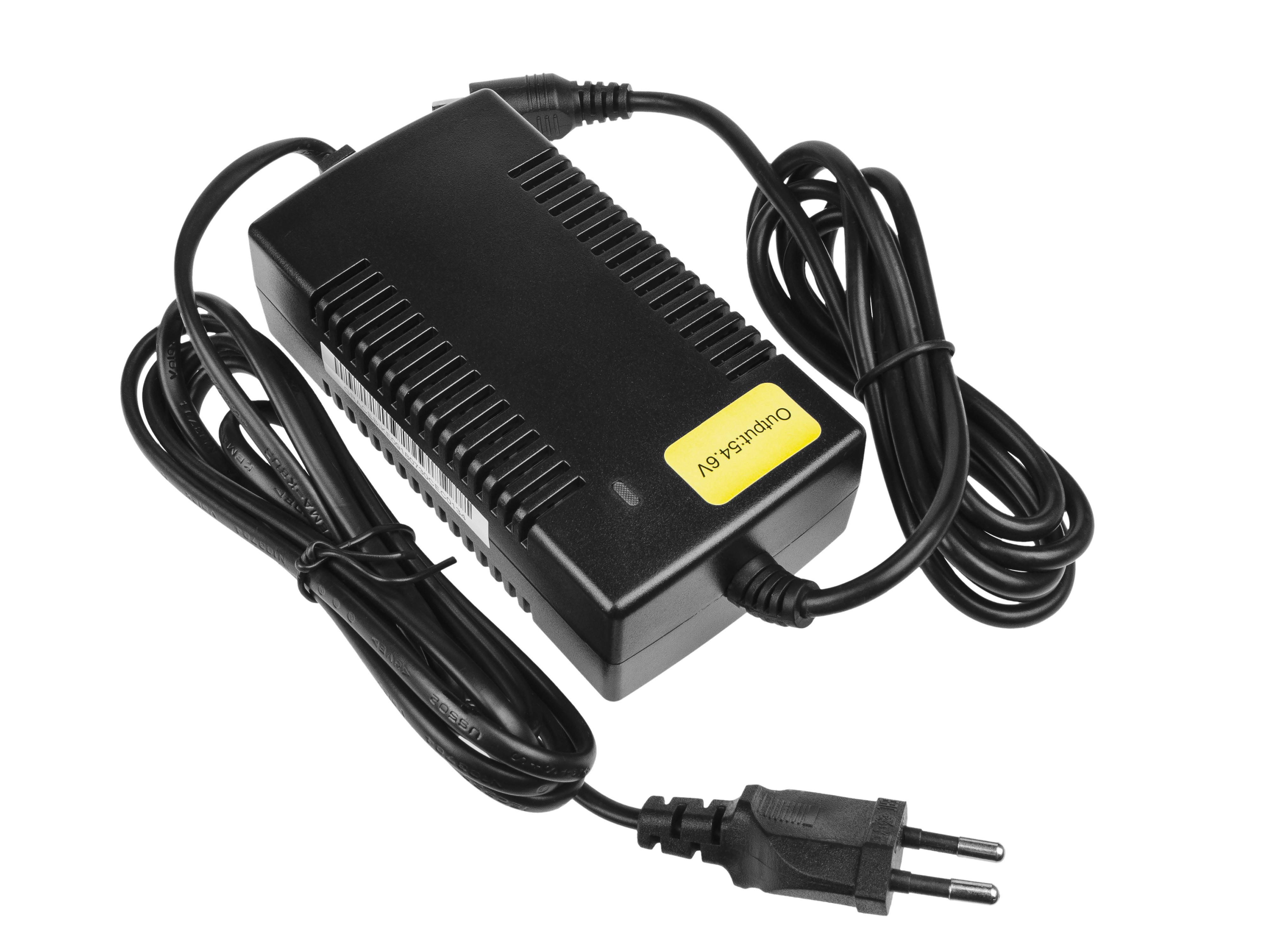 Green Cell ACEBIKE09 Adaptér 54.6V 1.8A (RCA) pro Baterie - elektrokola EBIKE 48V