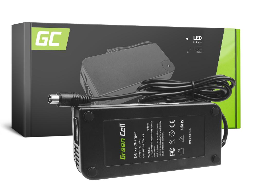 Green Cell akku töltő 54.6V 4A (RCA) Ebike 48V