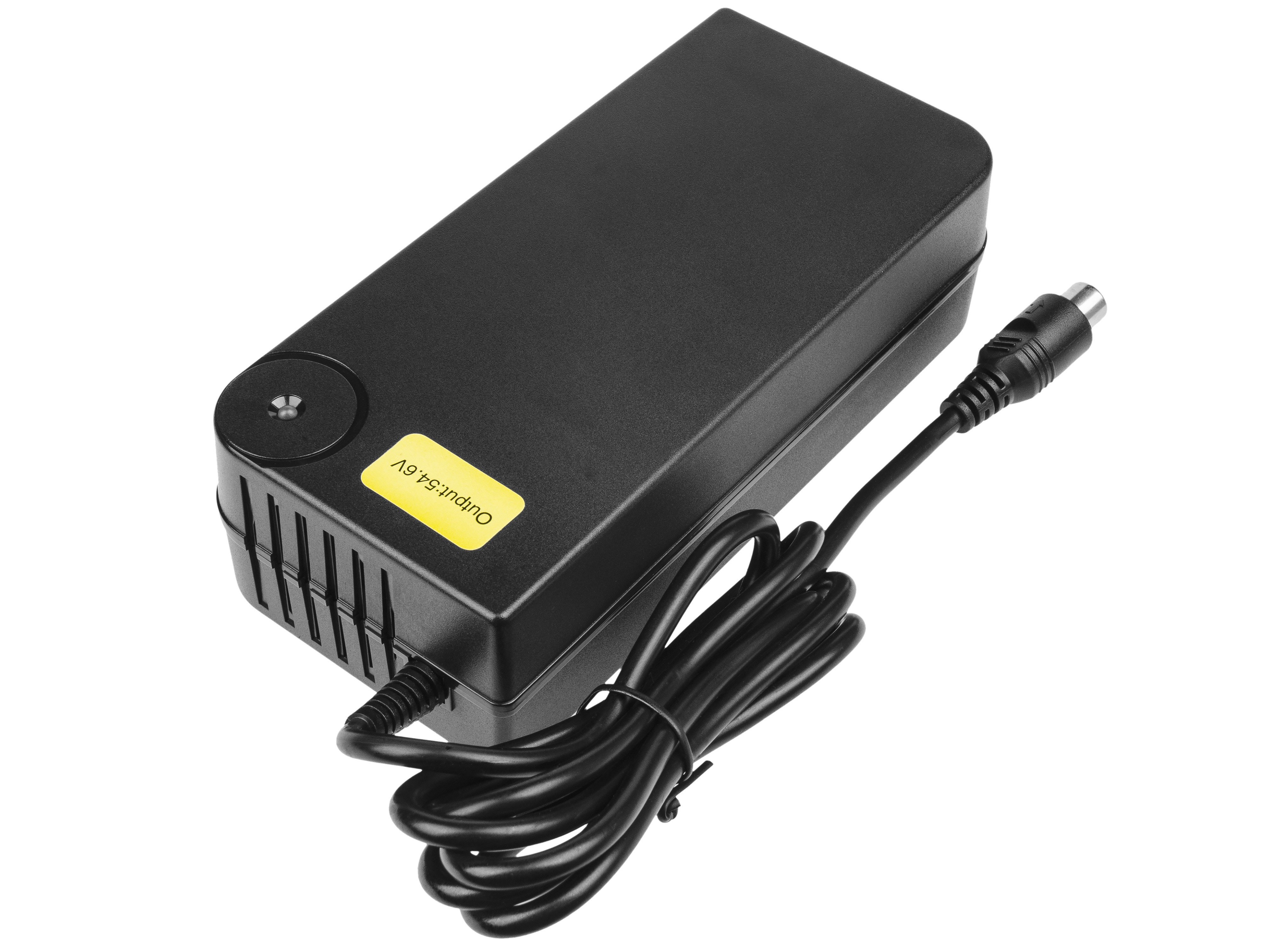 Green Cell Charger 54.6V 4A (RCA) for EBIKE batteries 48V