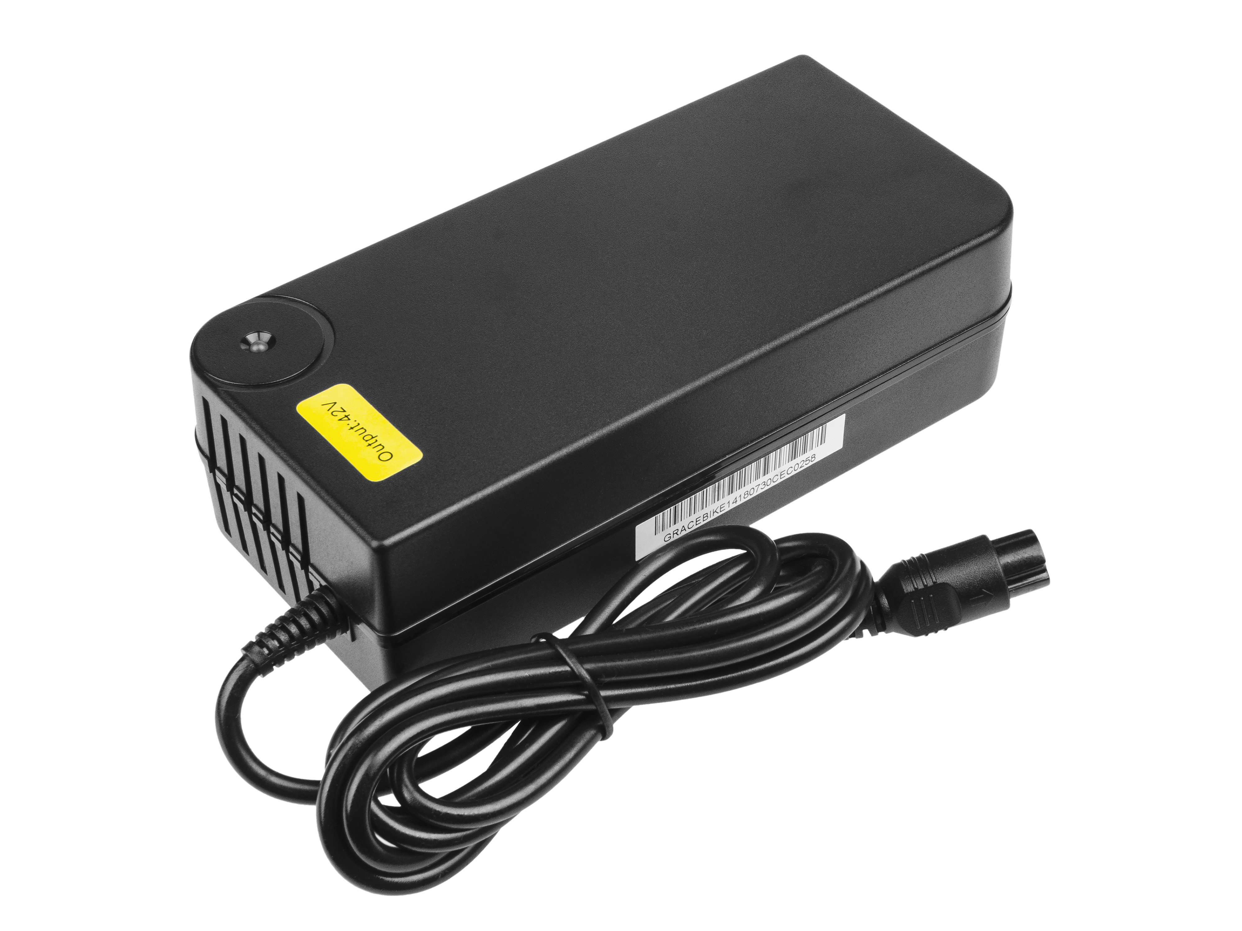 Adaptér GC 42V 4A (3 pin) pro EBIKE batteries 36V