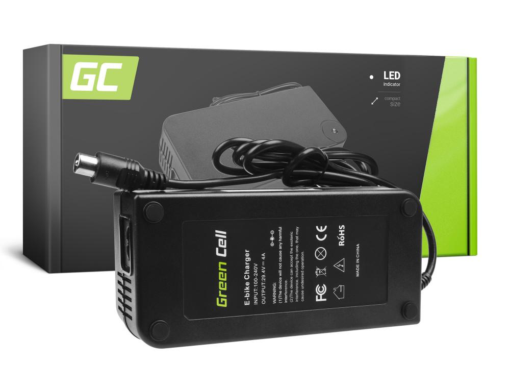 Green Cell akku töltő 29.4V 4A (RCA) Ebike 24V