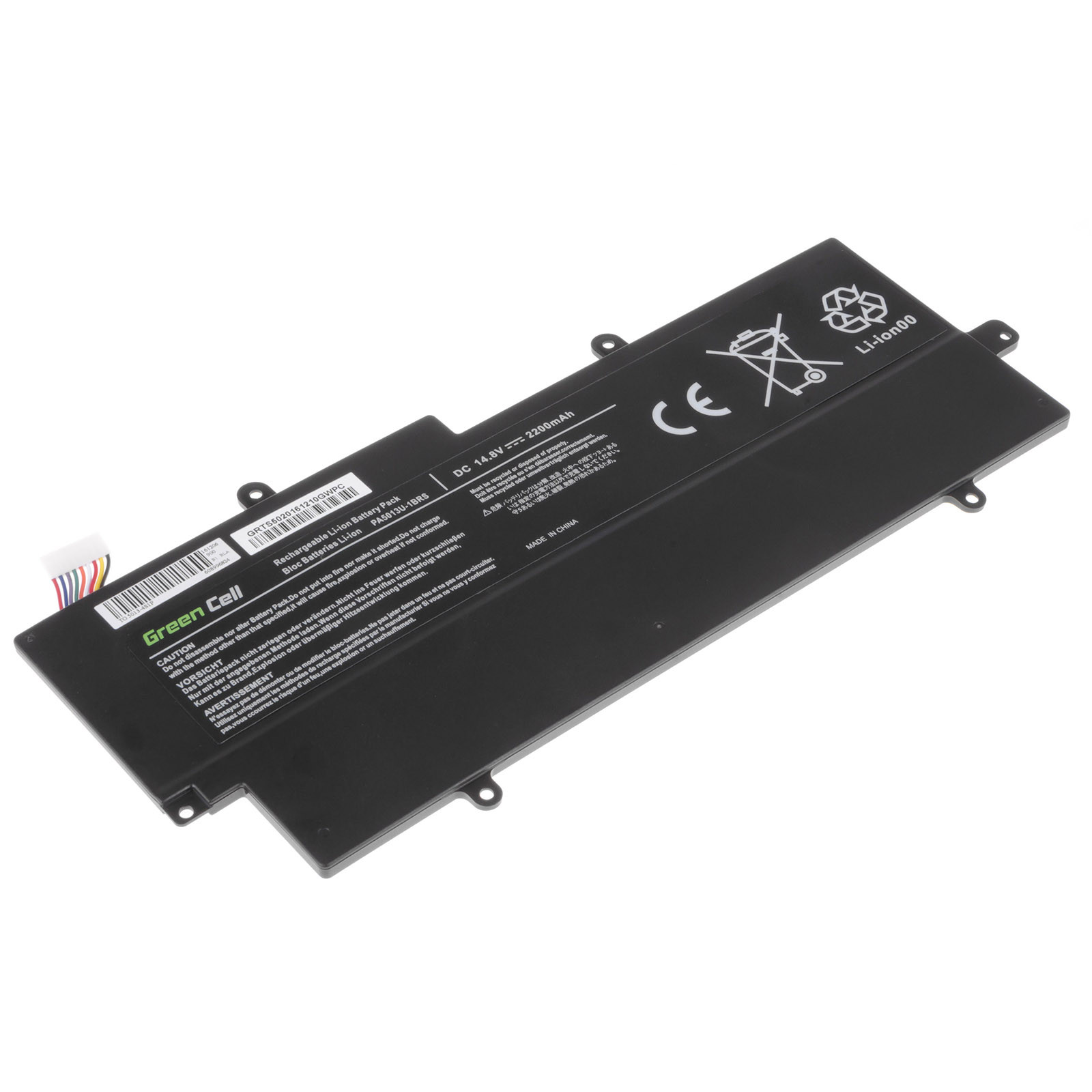 Green Cell Baterie pro Toshiba Portege Z830 Z835 Z930 Z935 / 14,4V 2200mAh