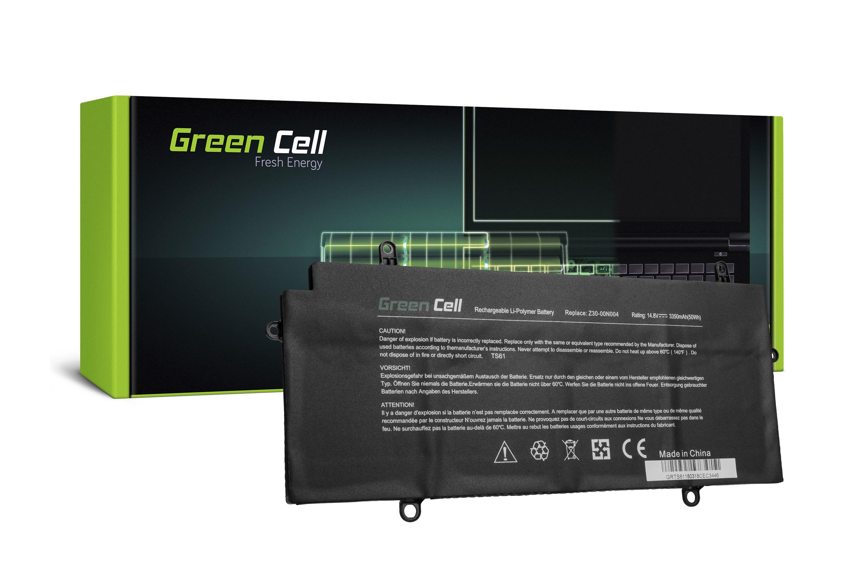 Green Cell Battery for Toshiba Portege Z30 Z30-A Z30-B Z30-C Z30t Z30t-A Z30t-B Z30t-C / 14,4V 3350mAh