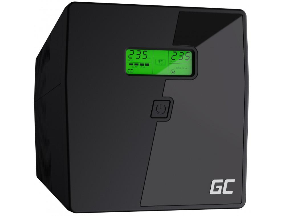 Green Cell UPS 1000VA LCD Microsine 700W