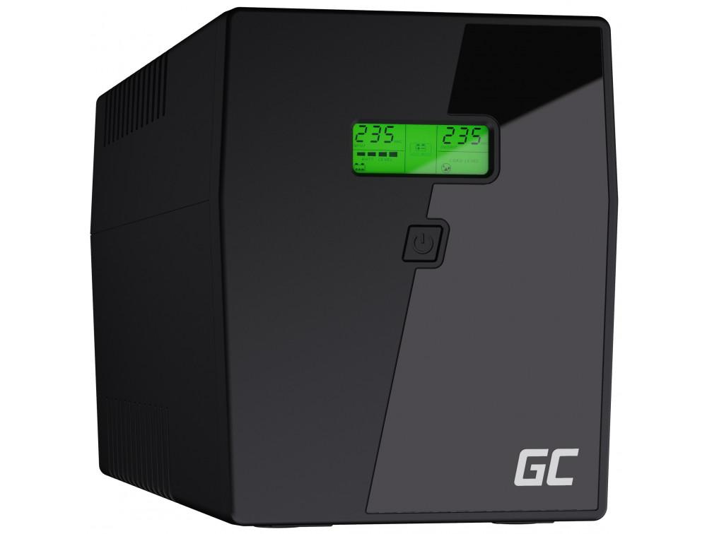 Green Cell UPS 2000VA LCD Microsine 1400W