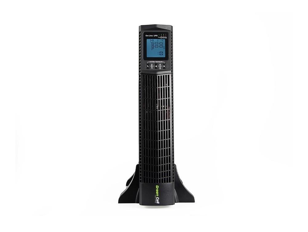 Green Cell ® UPS Online RTII 2000VA LCD
