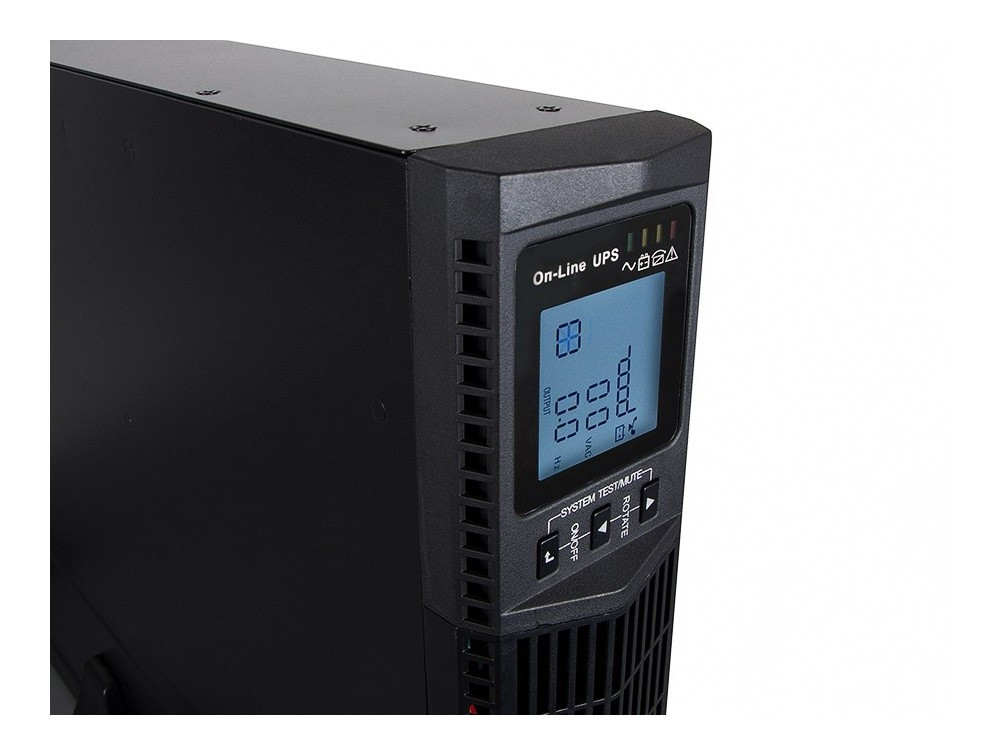 Green Cell ® UPS Online RTII 3000VA 2700W LCD