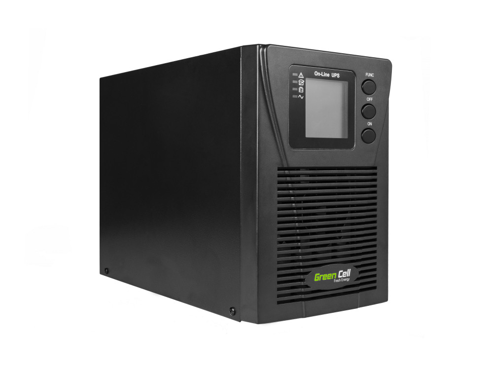 Green Cell ® UPS Online RTII 1000VA 900W LCD