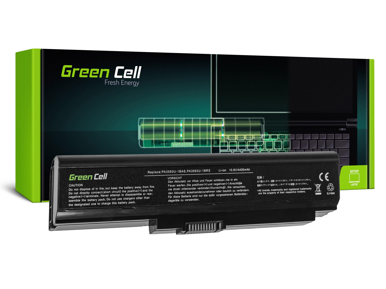 Green Cell Battery for Toshiba Satellite Pro U300 Portege M600 Tecra M8 / 11,1V 4400mAh