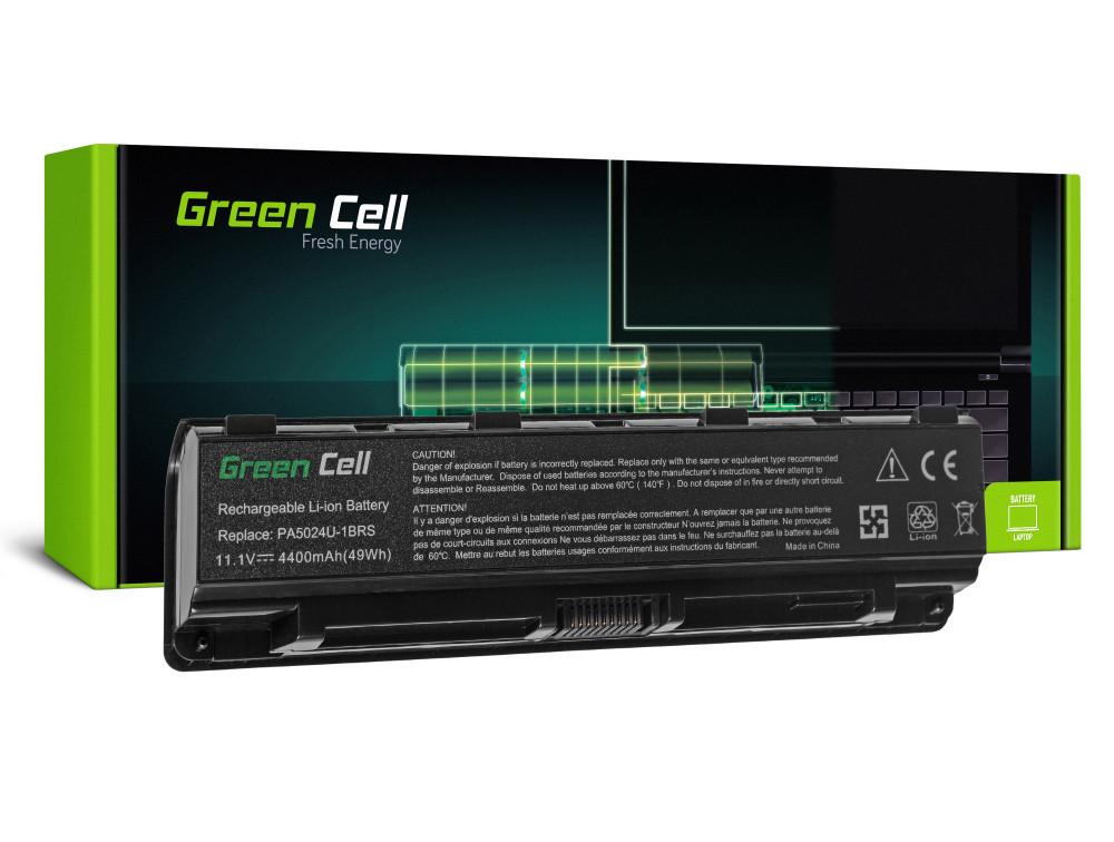 Green Cell akkumulátor Toshiba Satellite C850 C855 C870 L850 L855 PA5024U-1BRS / 11,1V 4400mAh