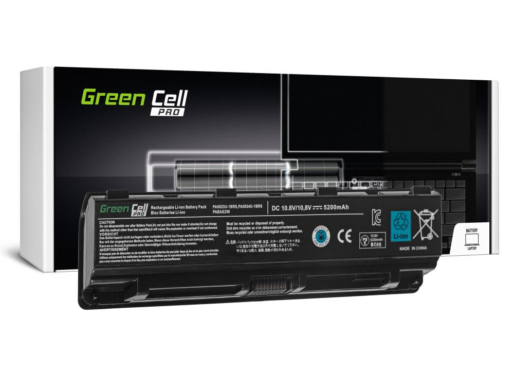 Green Cell PRO akku Toshiba Satellite C850 C855 C870 L850 L855 PA5024U-1BRS / 11,1V 5200mAh