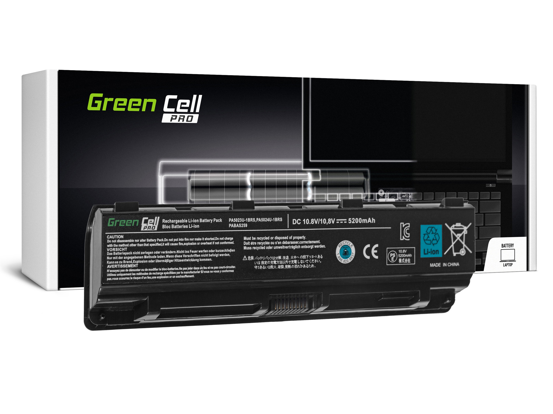 Green Cell TS13PRO Baterie Toshiba PA5024U-1BRS PA5109U-1BRS Toshiba Satellite C850 L850 C855 L855 5200mAh Li-ion - neoriginální