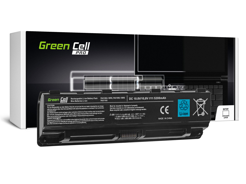 Green Cell TS13PROV2 Baterie Toshiba Satellite C50 C50D C55 C55D C70 C75 L70 P70 P75 S70 S75 5200mAh Li-ion - neoriginální