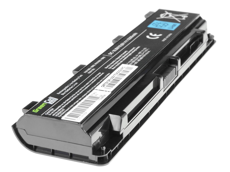 Green Cell PRO Baterie pro Toshiba Satellite C850 C855 C870 L850 L855 PA5109U-1BRS / 11,1V 5200mAh