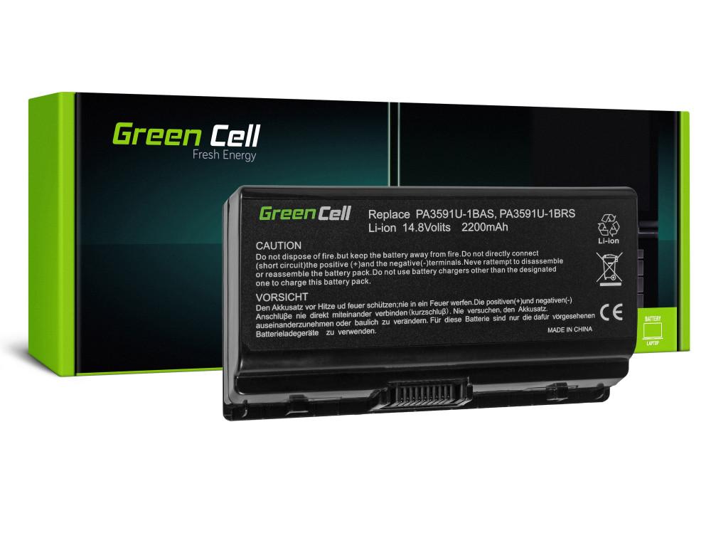 Green Cell akkumulátor Toshiba Satellite L40 L45 L401 L402 PA3591U-1BRS / 14,4V 2200mAh