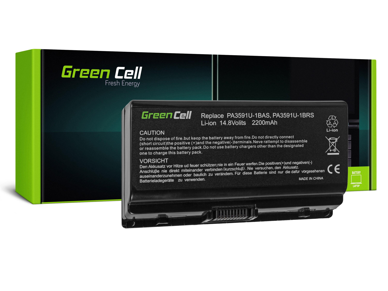 Green Cell TS14 Baterie Toshiba Satellite L40 L45 L401 L402 2200mAh Li-ion - neoriginální