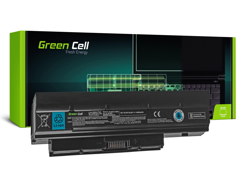 Green Cell TS16 Baterie Toshiba DynaBook N200 N510 Mini NB500 NB505 NB520 NB550 4400mAh Li-ion - neoriginální