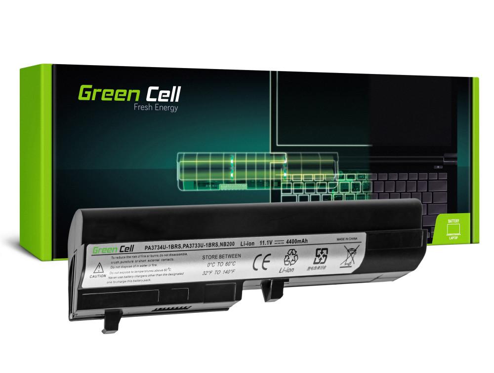 Green Cell akkumulátor Toshiba Mini NB200 NB205 NB250 PA3732U-1BRS / 11,1V 4400mAh