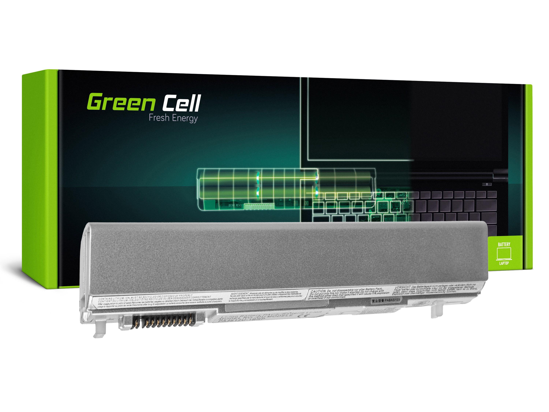 Green Cell Baterie pro Toshiba Portege R500 R505 PA3612U-1BRS (stříbrná) / 11,1V 4400mAh